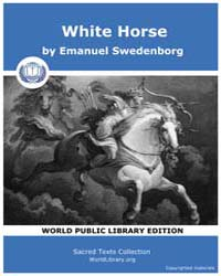 White Horse by Swedenborg, Emanuel