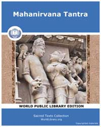 Mahanirvana Tantra by
