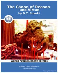 The Canon of Reason and Virtue by Suzuki, D.T.