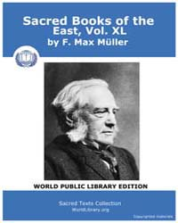 Sacred Books of the East, Vol. XL Volume Vol. XL by Müller, F. Max
