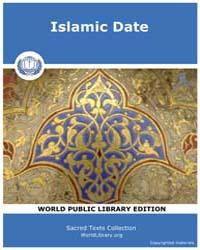 Islamic Date by