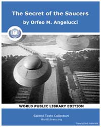 The Secret of the Saucers by Angelucci, Orfeo M.