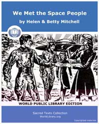 We Met the Space People by Mitchell, Helen & Betty