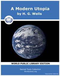 A Modern Utopia by Wells, H. G.