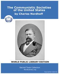 The Communistic Societies of the United ... by Nordhoff, Charles