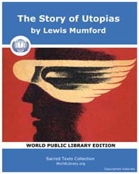 The Story of Utopias by Mumford, Lewis