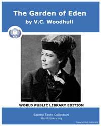 The Garden of Eden by Woodhull, V. C.