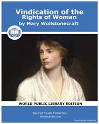Vindication of the Rights of Woman by Wollstonecraft, Mary