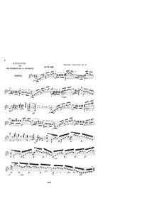 Fantaisie sur l'opéra 'Les Diamans de la... Volume Op.71 by Carcassi, Matteo