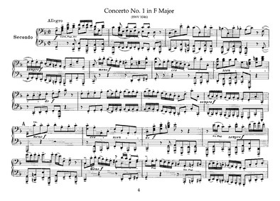 Brandenburg Concerto No.1 in F major, BW... Volume BWV 1046 by Bach, Johann Sebastian