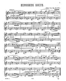 12 Miniatures12 Morceaux : Complete scor... Volume Op.20 by Cui, César