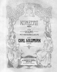 Violin Concerto, Op.28 : Violin and Pian... Volume Op.28 by Goldmark, Carl