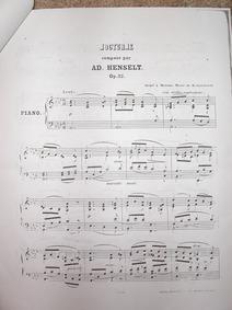 Nocturne, Op.32 : Complete Score Volume Op.32 by Henselt, Adolf von