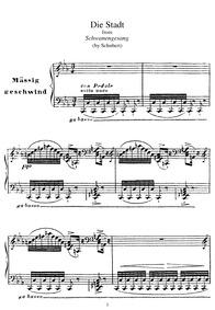 Schwanengesang (Swan Song / Letztes Werk... Volume D.957 by Schubert, Franz