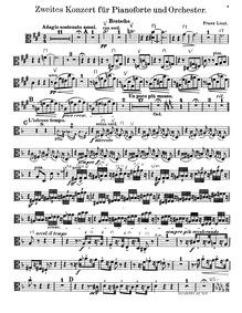 Piano Concerto No.2, S.125 : Violas Volume S.125 ; LW.H6 by Liszt, Franz