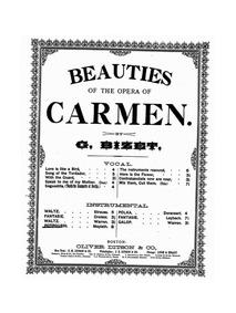 Carmen Potpourri : Complete Score by Maylath, Henry
