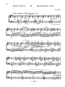 Forgotten Melodies I, Op.38 (Zabytye mot... Volume Op.38 by Medtner, Nikolay