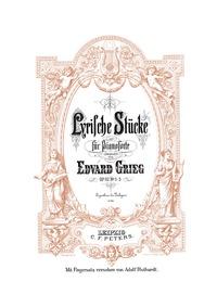 Lyric Pieces, Op.62 : Nos. 1-3 Volume Op.62 by Grieg, Edvard