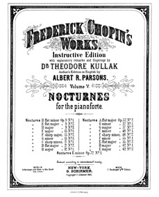Nocturne in E minor, Op.72 No.1 : Comple... Volume Op. 72 No. 1 (Posthumous) by Chopin, Frédéric