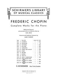 Rondo in C minor (Adieu à Varsovie) : Co... Volume Op.1 by Chopin, Frédéric