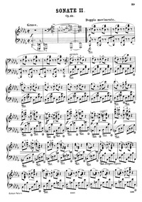 Piano Sonata No.2, Op.35 : Complete Scor... Volume Op.35 by Chopin, Frédéric