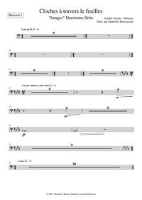 Images (2ème Série) : Bassoon 1 Volume CD 120 ; L.111 by Debussy, Claude