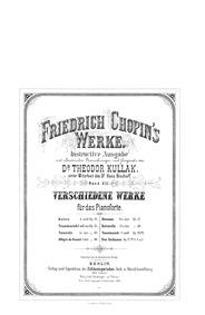 Bolero, Op.19 : Complete Score Volume Op.19 by Chopin, Frédéric