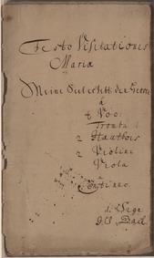 Meine Seel erhebt den Herren (My soul do... Volume BWV 10 ; BC A175 by Bach, Johann Sebastian