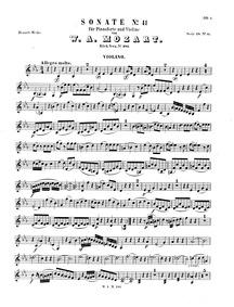 Violin Sonata (Violin Sonata No.33) : Vi... Volume K.481 by Mozart, Wolfgang Amadeus