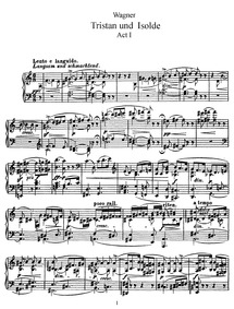 Tristan und Isolde, WWV 90 : Complete Sc... Volume WWV 90 by Wagner, Richard