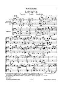 Lohengrin, WWV 75 : Complete Score Volume WWV 75 by Wagner, Richard