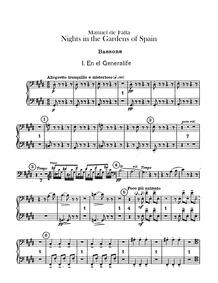 Noches en los Jardines de España (Nights... by Falla, Manuel de
