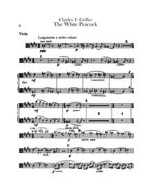 Roman Sketches, Op.7 : Violas Volume Op.7 ; A.77 (No.1), A.81 (No.2), A.82 (No.3), A.83 (No.4) by Griffes, Charles Tomlinson