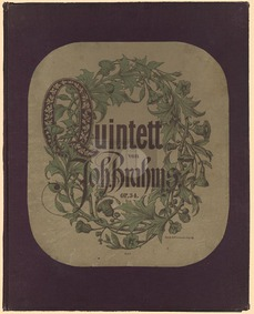 Piano Quintet (Klavier-Quintett) : Piano... Volume Op.34 by Brahms, Johannes