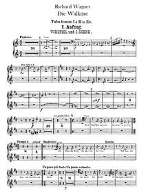 Die Walküre ; The Valkyrie (Der Ring des... Volume WWV 86b by Wagner, Richard