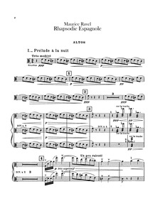 Rapsodie espagnole (Rhapsodie espagnole)... Volume M.54 by Ravel, Maurice