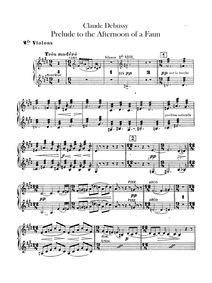 Prélude à l'après-midi d'un faune : Viol... Volume CD 87 ; L.86 by Debussy, Claude