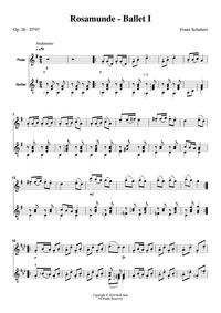 Rosamunde, D.797 : Complete score Volume D.797 by Schubert, Franz