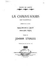 Die Fledermaus, Operetta in 3 acts (The ... by Strauss Jr., Johann