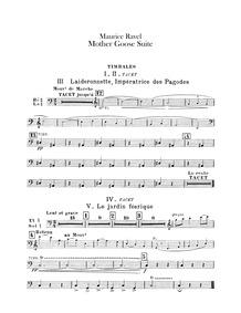 Ma Mère l'Oye (cinq pièces enfantines) (... Volume M.60 by Ravel, Maurice