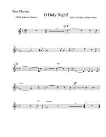 Cantique de Noël (Minuit chrétiens) : Ba... by Adam, Adolphe