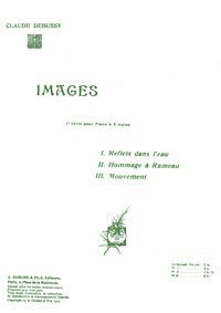 Images (1ere série) : Complete Score (fi... Volume CD 105 ; L.110 by Debussy, Claude