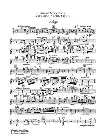 Verklärte Nacht, Op.4 (Transfigured Nigh... Volume Op.4 by Schoenberg, Arnold