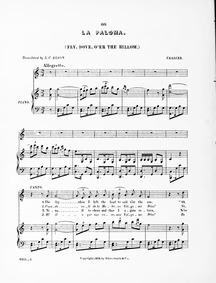 The Song of the Dove - Spanish Serenade ... by Yradier, Sebastián