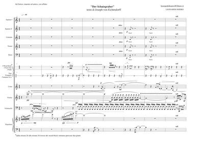 Der Schatzgräber : Complete Score by Boero, Leonardo