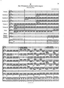 Ihr Frommen, richtet euch empor, GWV 116... Volume GWV 1167/25 by Graupner, Christoph