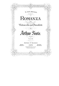 Cello Concerto, Op.33 (Concerto in G min... Volume Op.33 (originally Op.16) by Foote, Arthur