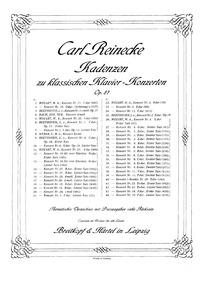 Piano Concerto No.1, Op.15 : Complete Sc... Volume Op.15 by Beethoven, Ludwig van