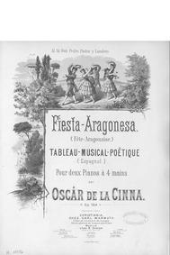 Fiesta Aragonesa, Op.184 : Complete scor... Volume Op.184 by Cinna, Óscar de la