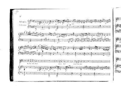 Arianna a Naxos (Teseo mio ben) : 2. Ada... Volume Hob.XXVIb:2 by Haydn, Joseph